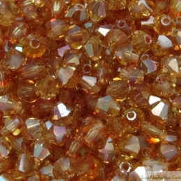 Tupi cristal checo 4mm  Jonquile Celsian