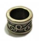 Rondel con filigrana10x16mm. Int. 11mm