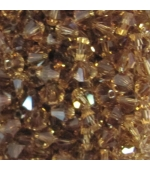 Tupi swarovski 5 mm Light Smoked Topaz A