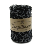 Bobina Trapillo animal print negro 986