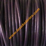 Cuero 2,5 mm color morado