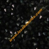 Tupi cristal checo 4 mm negro