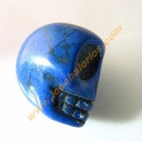 Calavera mexicana howlita 17 mm color azul.