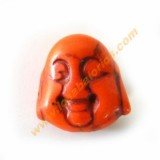 Buda color naranja 20x21x12mm aprox