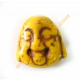 Buda color amarillo 20x21x12mm aprox