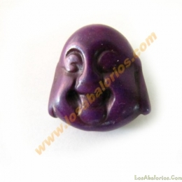 Buda color morado 20x21x12mm aprox