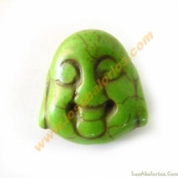 Buda color verde 20x21x12mm aprox
