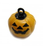 Cascabel Calabaza haloween de 18x12,5mm