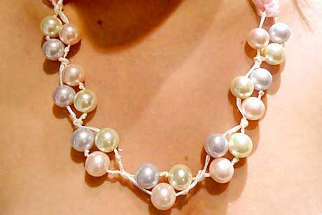 pearl,necklace,tutorial