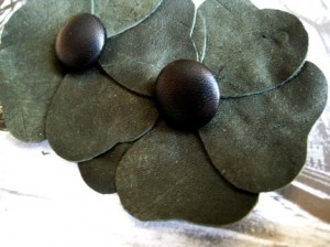 Upcycled-Moss-Green-Hair-Pin-Michelle