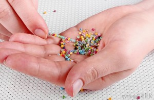 stringing-seed-beads